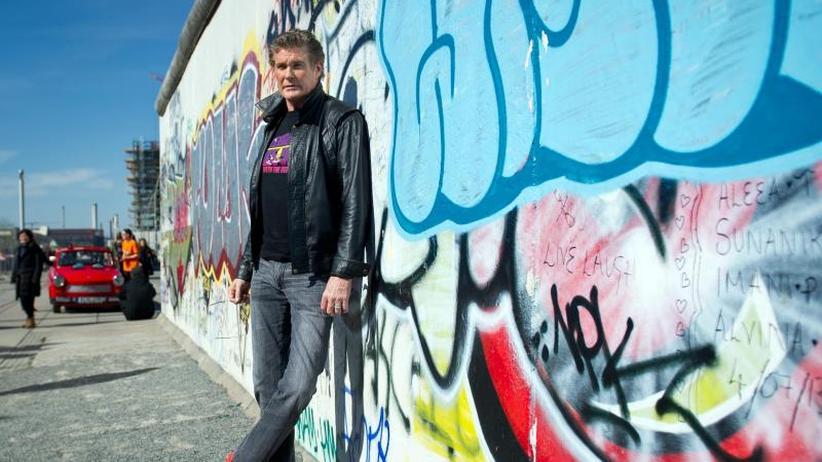 Looking For Freedom: David Hasselhoff von Mauerfall-Geschichte genervt