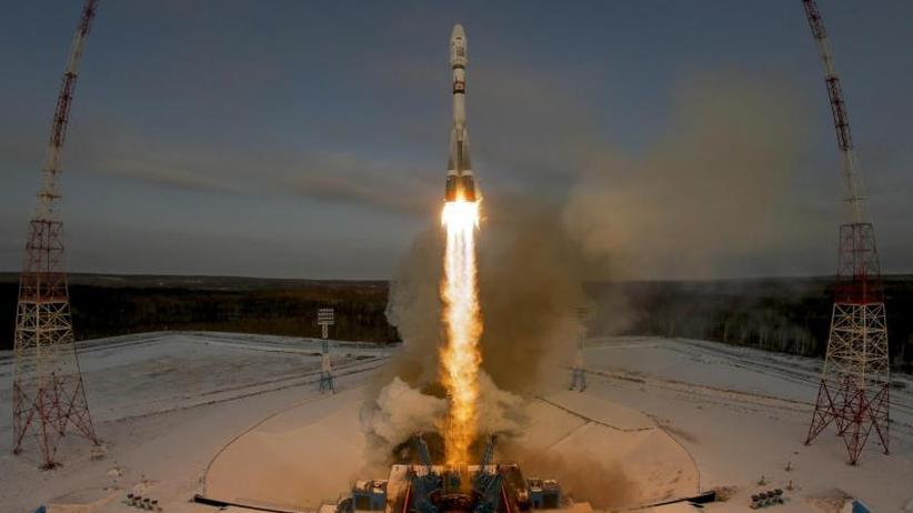 Weltraumbahnhof Wostotschny: Russland startet Rakete mit Berliner Satelliten