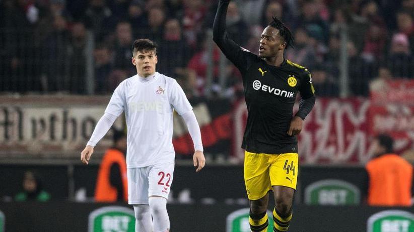 Bundesliga-Freitagsspiel: Batshuayi-Doppelpack und Schürrle: Dortmund siegt in Köln