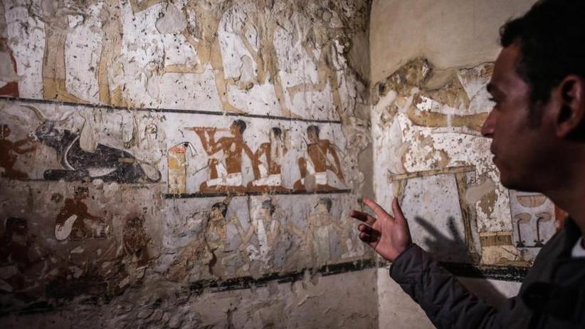 Ruhestätte einer Priesterin: 4000 Jahre altes Grab bei Pyramiden in Ägypten entdeckt