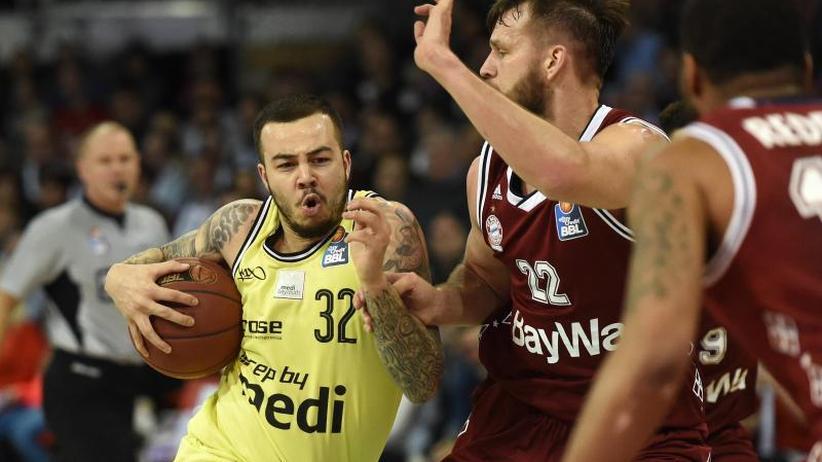 BBL: Bayern-Basketballer gewinnen Topspiel gegen Bayreuth