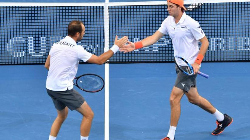 Davis Cup: Deutsches Doppel sorgt für 2:1-Führung in Australien
