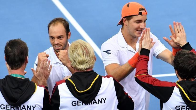 Hoffnung auf Viertelfinale: Deutsches Doppel sorgt im Davis Cup für die 2:1-Führung