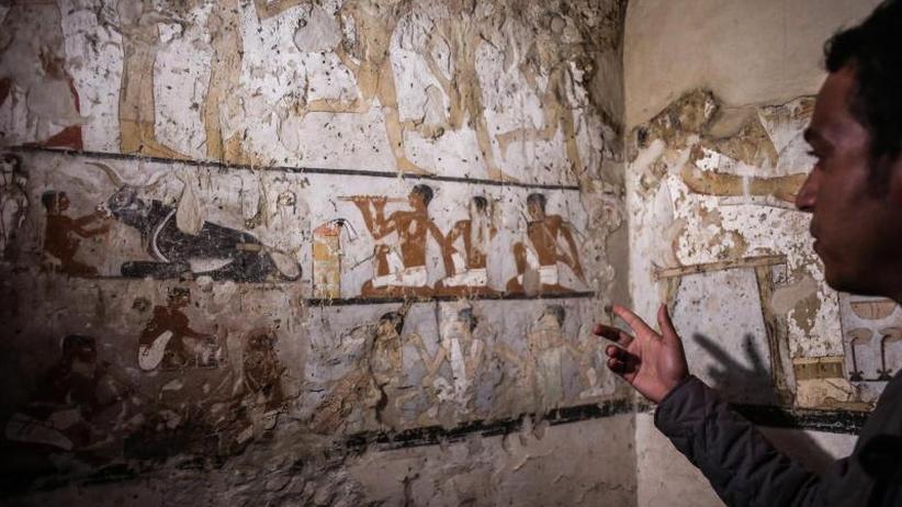 Bei Pyramiden von Giseh: Forscher entdecken 4000 Jahre altes Grab in Ägypten