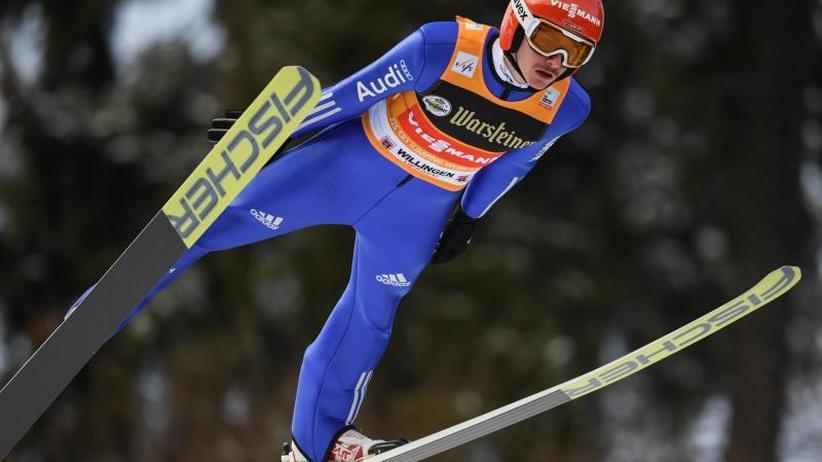 Olympia-Generalprobe: Skispringer Freitag wird in WillingenZweiter hinter Tande