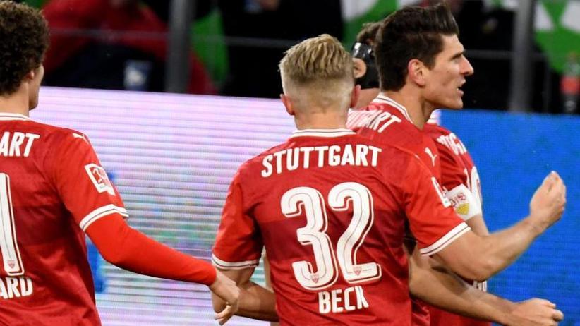 Gomez trifft bei Rückkehr: Stuttgart holt bei Korkut-Debüt unentschieden in Wolfsburg
