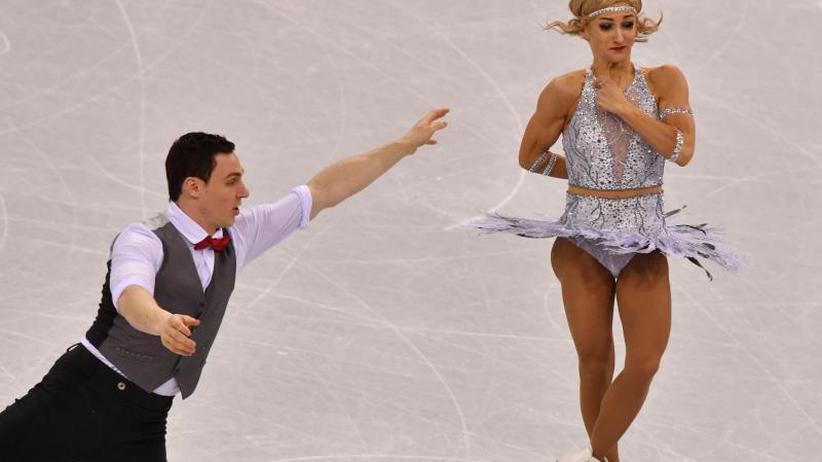 Nach Kurzkür: Deutsches Eiskunstlauf-Team mit Savchenko/Massot Achte