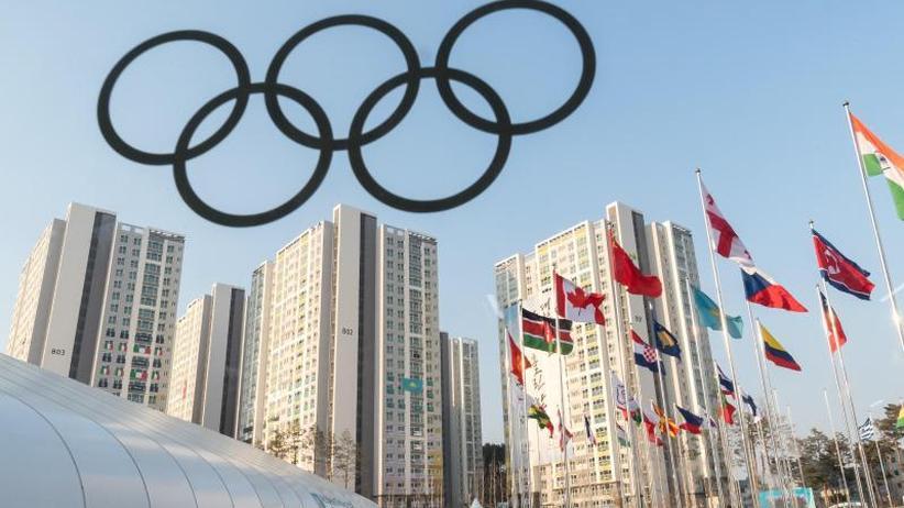 Frenzel als Fahnenträger: Olympischen Winterspiele starten - Bunte Eröffnungsfeier