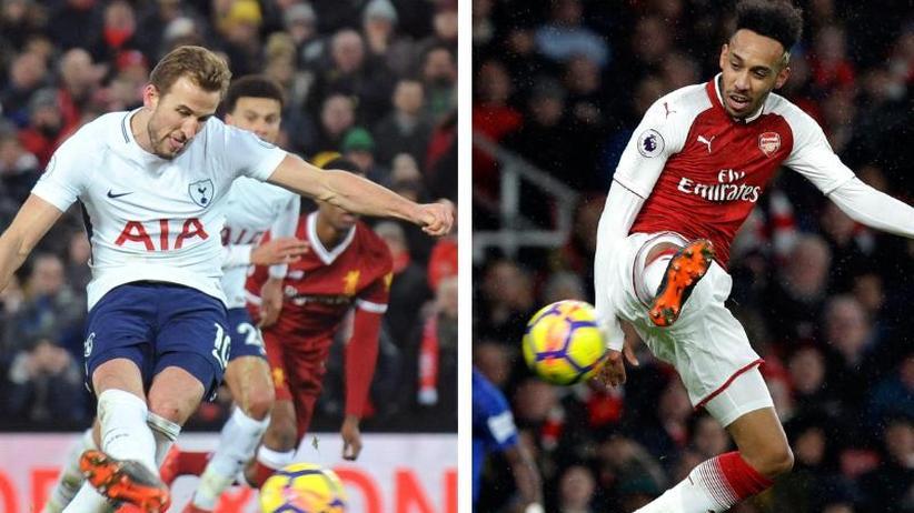 "Derby in London: ""Taucher"" Kane gegen ""verrückten"" Aubameyang"