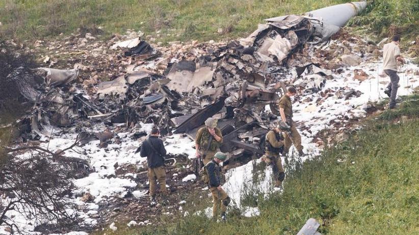 Spannungen mit Iran wachsen: Syrien schießt israelischen Kampfjet ab