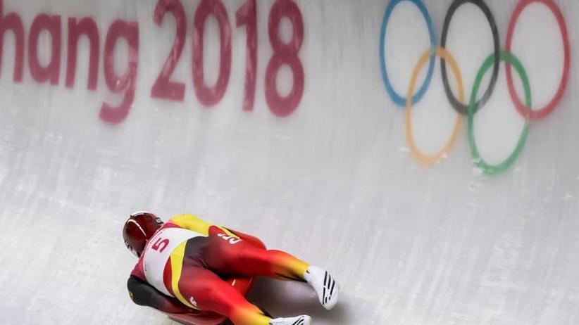 Das bringt der Tag bei Olympia: Hoffen auf weitere Medaillen:Rodler Loch vor Gold-Hattrick