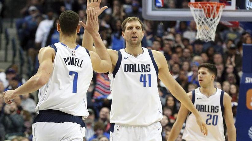 Basketball-Profiliga: Nowitzki führt Dallas zum 130:123-Sieg gegen die LA Lakers
