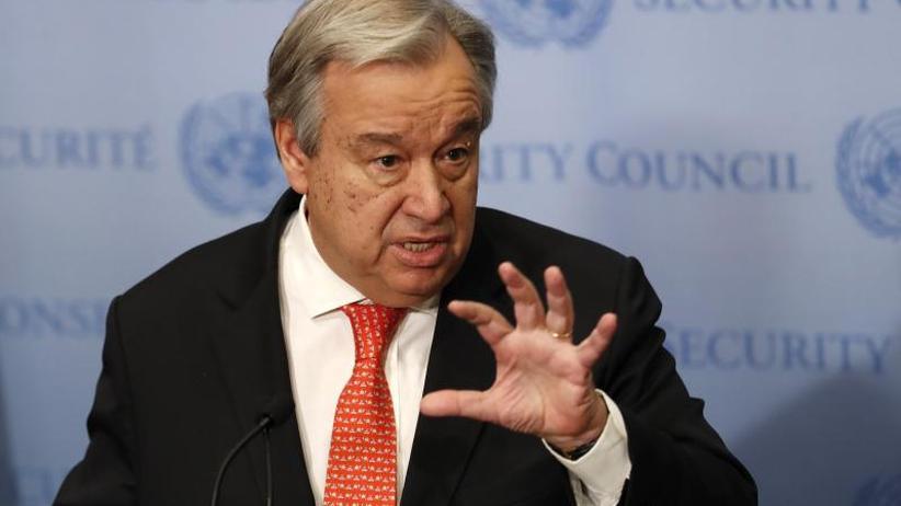 Nach Kampfjet-Abschuss: UN-Generalsekretär ruft zu Deeskalation in Syrien auf