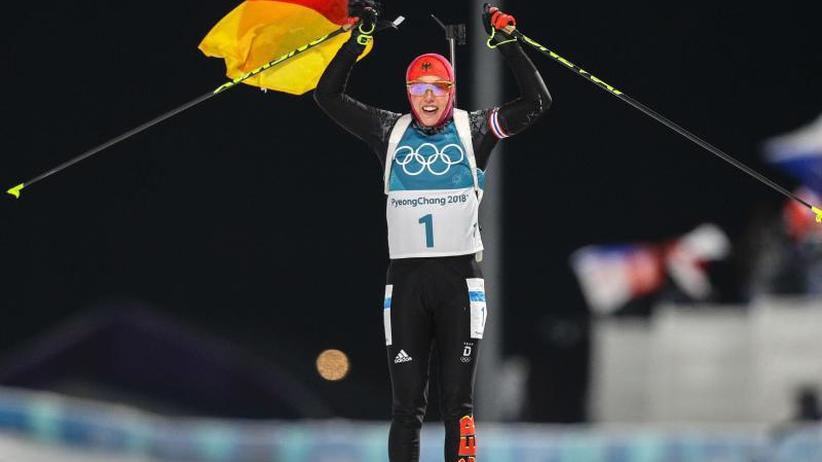 Biathlon-Superstar: Dahlmeier braucht nach historischem Olympia-Double Ruhe