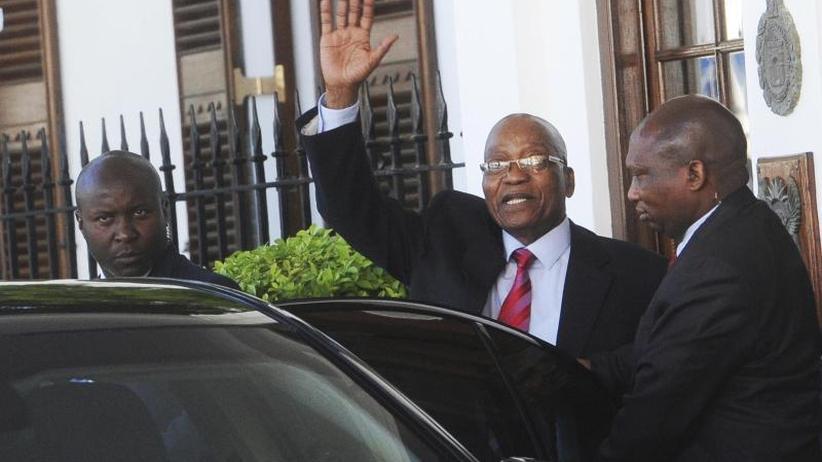 ANCberät über Absetzung: Warten auf den Rücktritt: Südafrikas Präsident Zuma am Ende