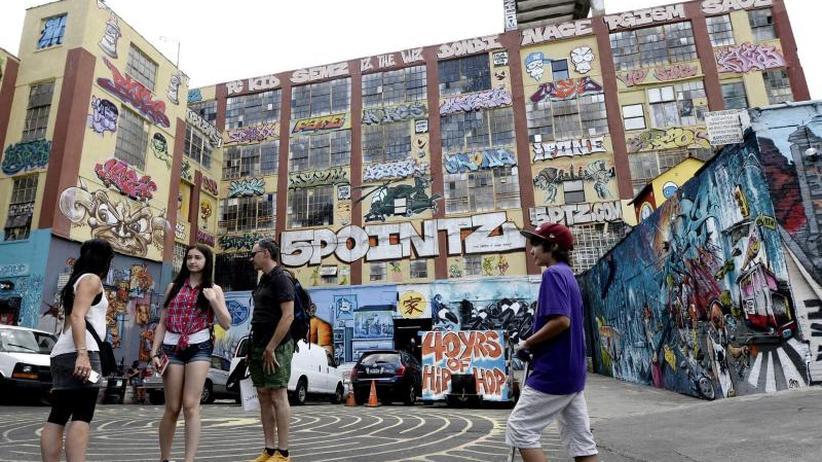 Kunst am Bau: 6,7 Millionen Dollar Schadenersatz für Graffiti