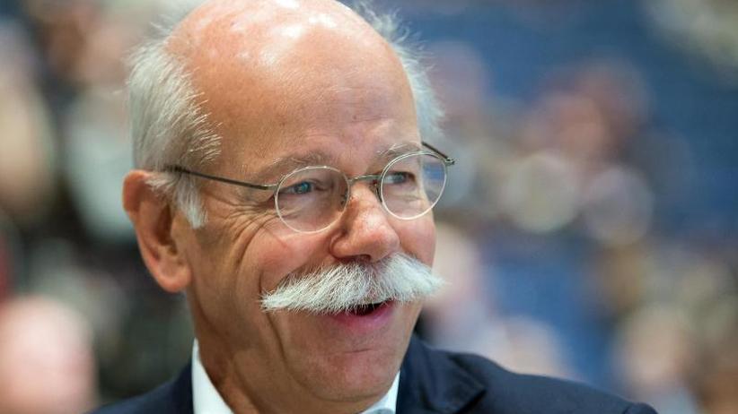 Rund 8,6 Millionen Euro: Daimler-Chef Zetsche bekommt für 2017 wieder mehr Geld