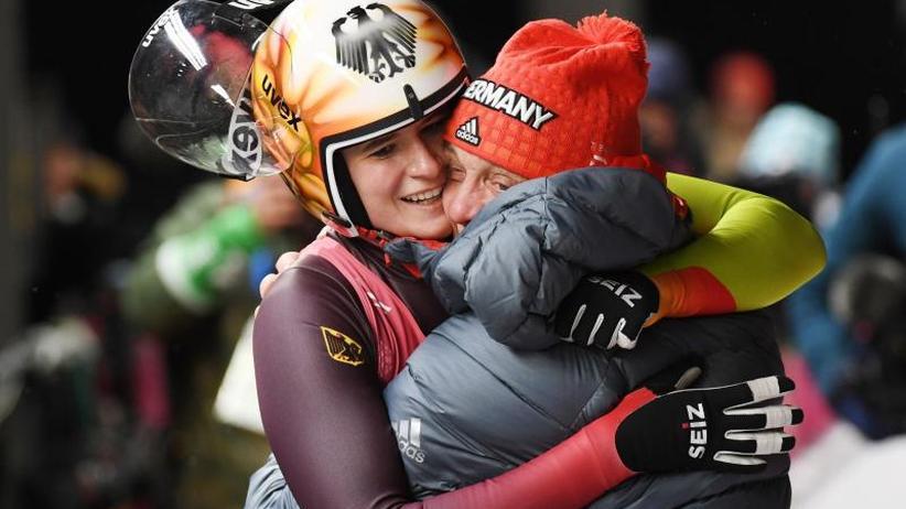 Olympische Winterspiele: Deutsche Rodel-Frauen sind Medaillengaranten