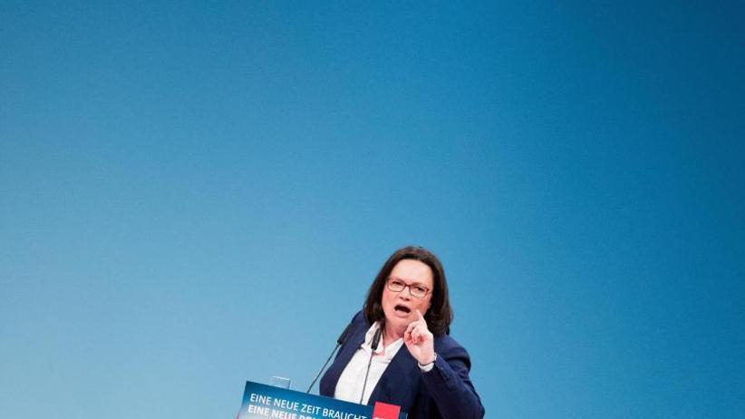 Darf sie oder nicht?: Nahles und die kommissarische SPD-Führung