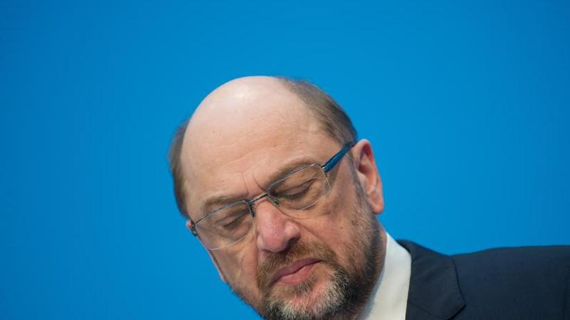 Berlin: Schulz erklärt sofortigen Rückzug von der SPD-Spitze