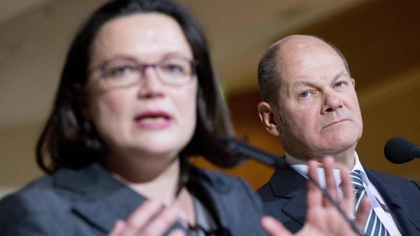 Analyse: Schulz'letzter Dienst und Nahles' verkorkster Start