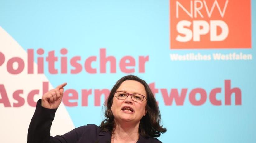 """Designierte SPD-Chefin: Andrea Nahles und der """"Schwur von Schwerte"""""""