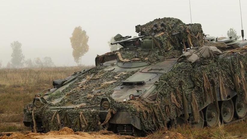 """Bericht der """"Welt"""": Ersatzteilmangel:Heer hat zu wenige einsatzbereite Panzer"""