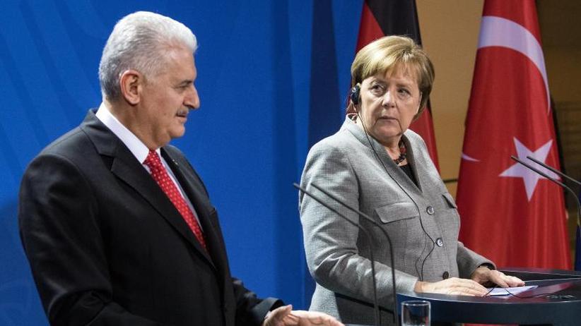 Bewegung im Fall Yücel?: Merkel empfängt türkischen Ministerpräsidenten Yildirim