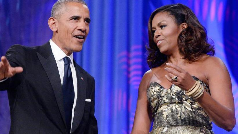 Musik liegt in der Luft: Valentinstag: Michelle Obama schenkt Barack Liebeslieder