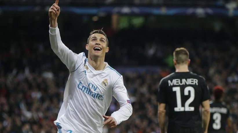 3:1 gegen PSG: Vorteil Real: Ronaldo macht den Unterschied