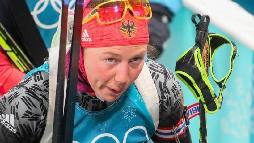 Olympische Winterspiele 2018: Dahlmeier erstmals ohne Medaille - Sensation im Super-G