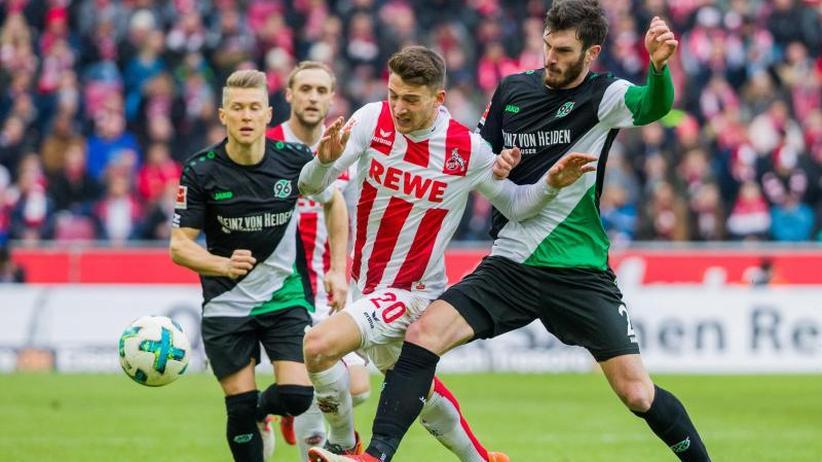 23. Spieltag: Kölner Hoffnungen wachsen minimal - 1:1 gegen Hannover