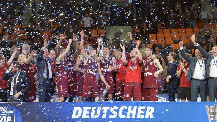 Top Four: Bayern-Basketballer feiern ersten Pokalerfolg seit 50 Jahren