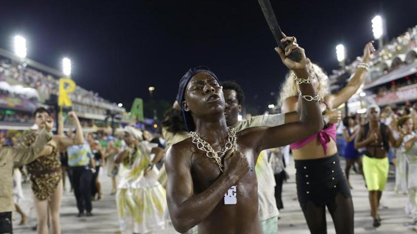 """""""Beija-Flor"""" gewinnt: Mit Satire und Sozialkritik geht Rios Karneval zu Ende"""