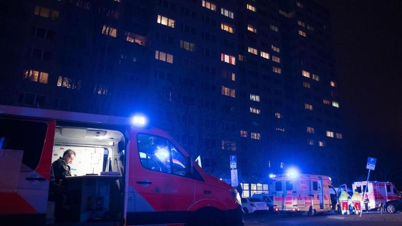Bewohner in Angst: Brandserie in Hochhaus: Junger Verdächtiger festgenommen