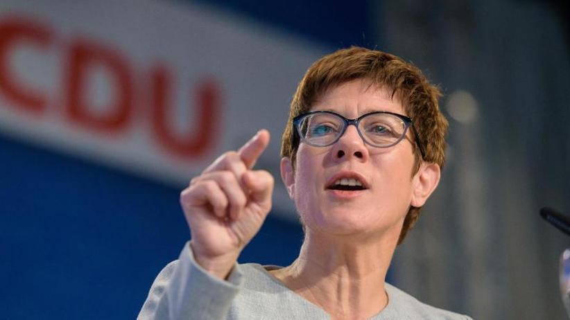 Von der Saar an die Spree: CDU-Hoffnungsträgerin Kramp-Karrenbauer