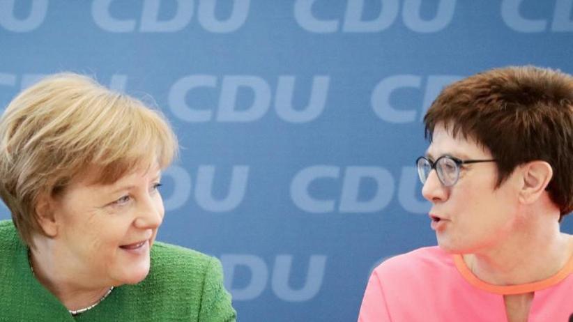 Tauber-Nachfolgerin: Kramp-Karrenbauer kündigt inhaltliche Erneuerung der CDU an