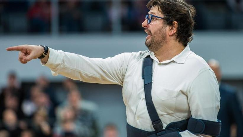 Sportliche Krise: Meister Bamberg und Coach Trinchieri trennen sich offenbar