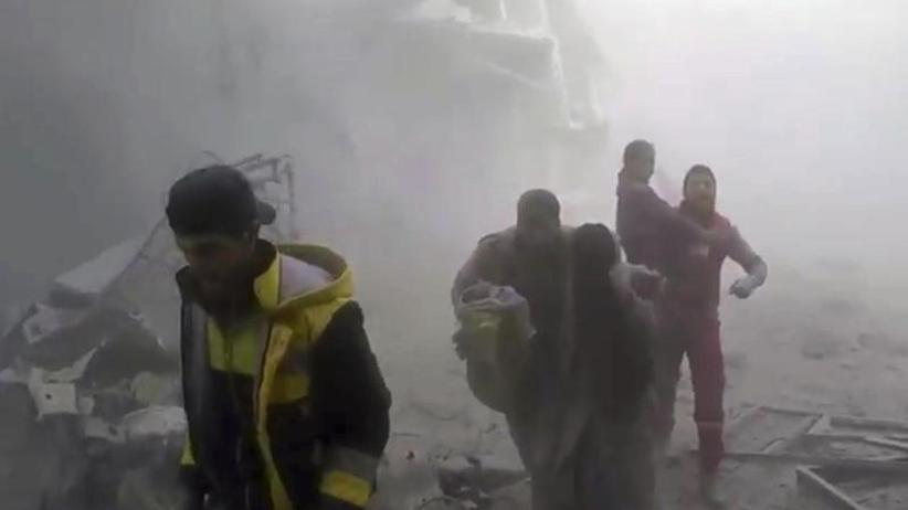 Viele Tote und Verletzte: Erneute Angriffe auf syrisches Ost-Ghuta