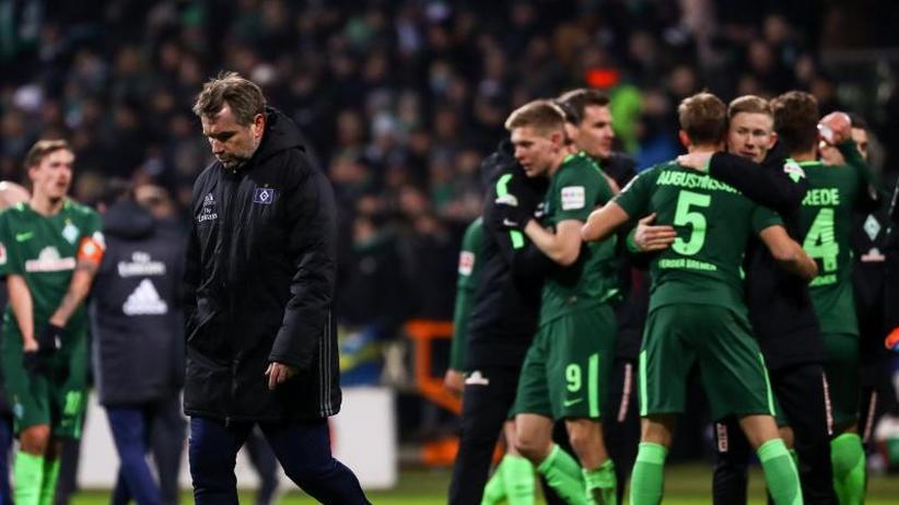 1:0-Erfolg: Glücklicher Sieg im Abstiegskampf:Werder bezwingt den HSV