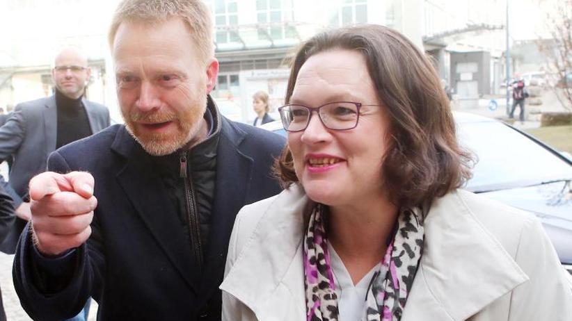 Kritik von Groko-Kritikern: SPD-Spitze rackert für große Koalition