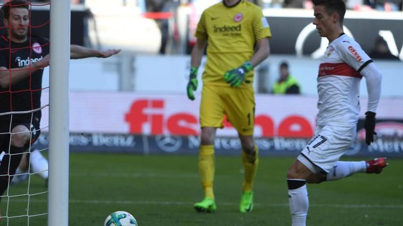 Bundesliga: Stuttgart siegt unter Korkut weiter - 1:0 gegen Frankfurt