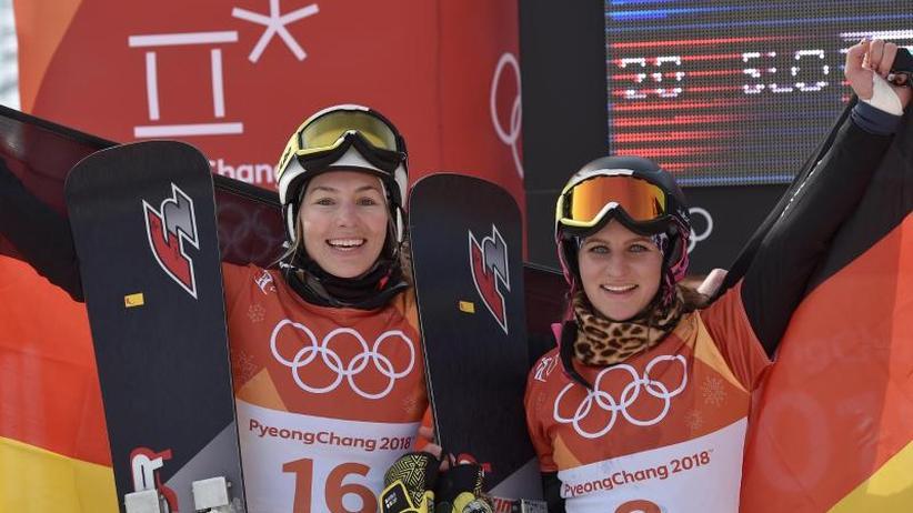 Olympia in Pyeongchang: Zwei Medaillen im Snowboard - Viererbob auf Gold-Kurs