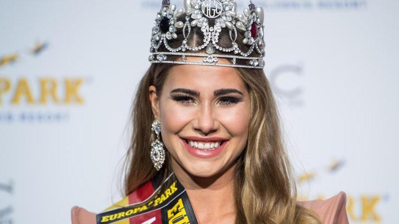 """Tränen einer Siegerin: Anahita Rehbein wird """"Miss Germany"""""""