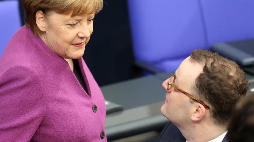 Regierungsbildung in Berlin: Merkel-Kritiker Jens Spahn wird Gesundheitsminister