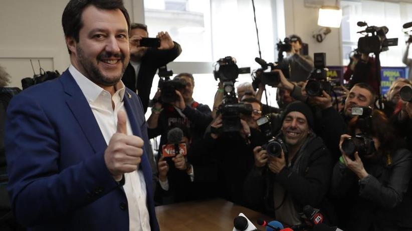 Rechtspopulistische Partei: Lega-Chef will Italien regieren