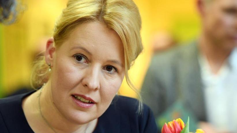 Neue GroKo: Überraschungspersonalie: Giffey soll für SPD ins Kabinett