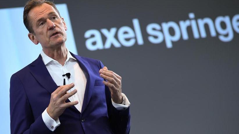 Glaubt noch an Print: Axel Springer erreicht seine Ziele dank Digitalgeschäft