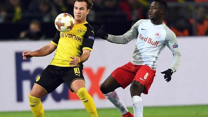 Europa League: Desolate Dortmunder nach Heimpleite gegen Salzburg vor Aus