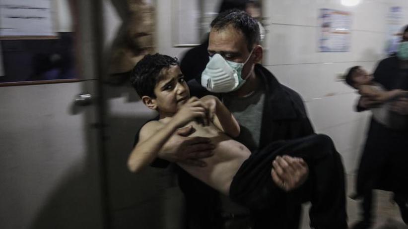 Hilfskonvoi verschoben: Krieg in Syrien: Rebellen in Ost-Ghuta massiv unter Druck